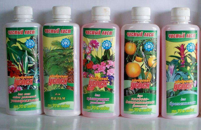 корневые подкормки для комнатных растений